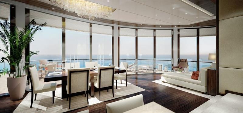 Comienza en Vigo la construcción del primer crucero de Ritz Carlton