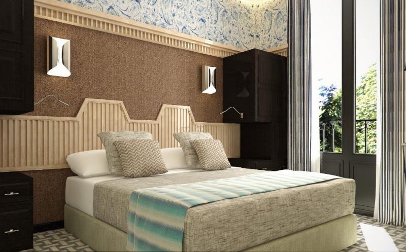 Imagen de una de las habitaciones del futuro Room Mate Alba, que abrirá en mayo o junio en pleno barrio de Huertas.