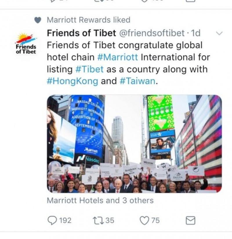 Un 'descuidado' tweet comprometió a Marriott frente a las autoridades chinas. El presidente de la hotelera se disculpó.