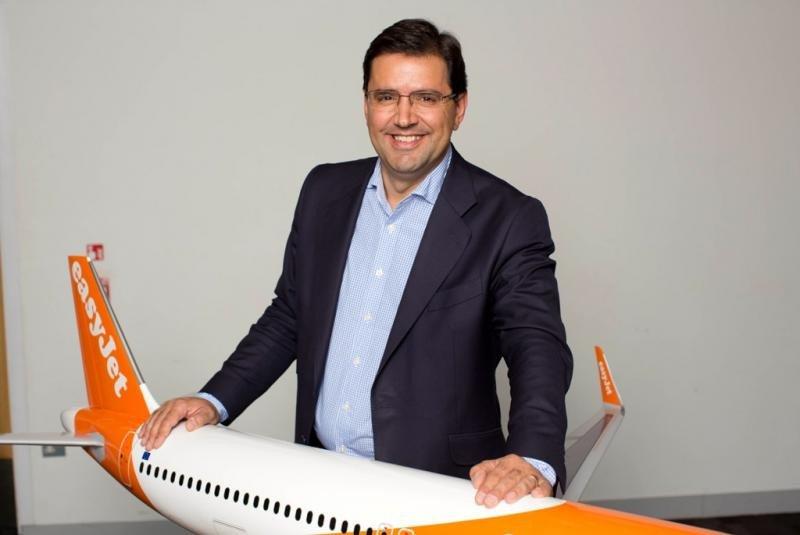 Javier Gándara, director de EasyJet para España.