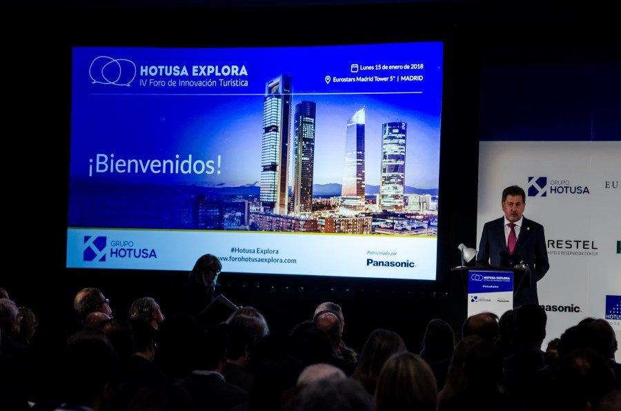 El presidente de Grupo Hotusa, Amancio López.