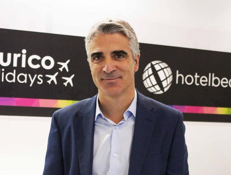 Carlos Muñoz, Director General del Bedbank de Hotelbeds Group.