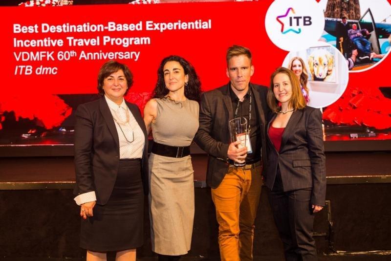 ITB dmc Barcelona obtiene un SITE Crystal Award por un evento experiencial