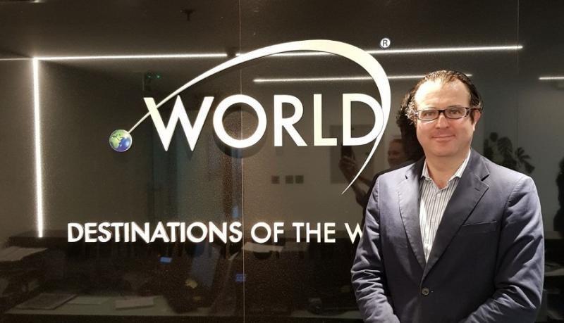 Bartomeu Gili nuevo director general de Dotw Destination of the world