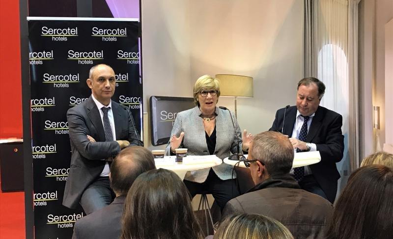 Benjamín Sanz, Marisol Turró y Javier Garro, de izqu.  a dcha.