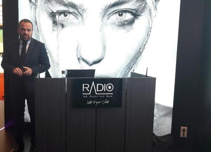 Gabriel Escarrer, vicepresidente ejecutivo y consejero delegado de Meliá Hotels International, durante su presentación en Fitur.