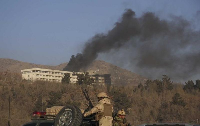 Seis muertos en un ataque talibán al Hotel Intercontinental de Kabul