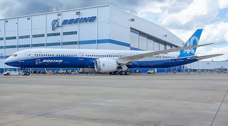 EEUU autoriza el Boeing 787-10 Dreamliner para vuelos comerciales
