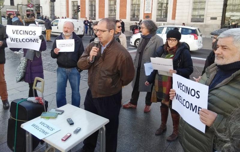 Reclaman una moratoria turística en el centro de Madrid. Foto: FRAVM