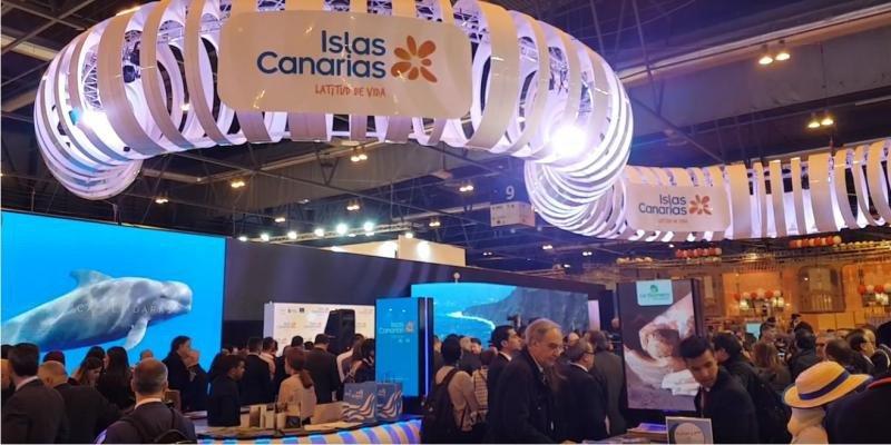 Estand de Canarias en Fitur 2018