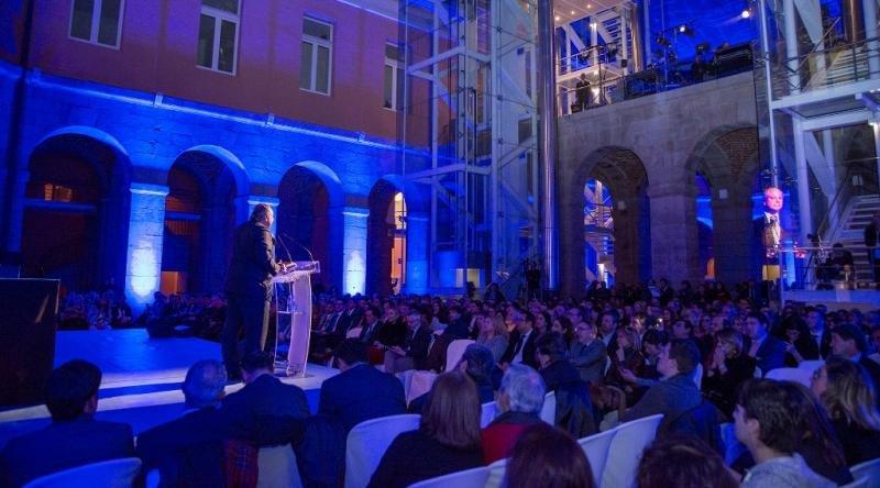 Un momento de la Noche Q, celebrada la semana pasada en Madrid.