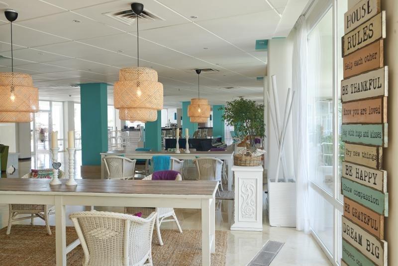 Lobby del Sol Beach House Mallorca.