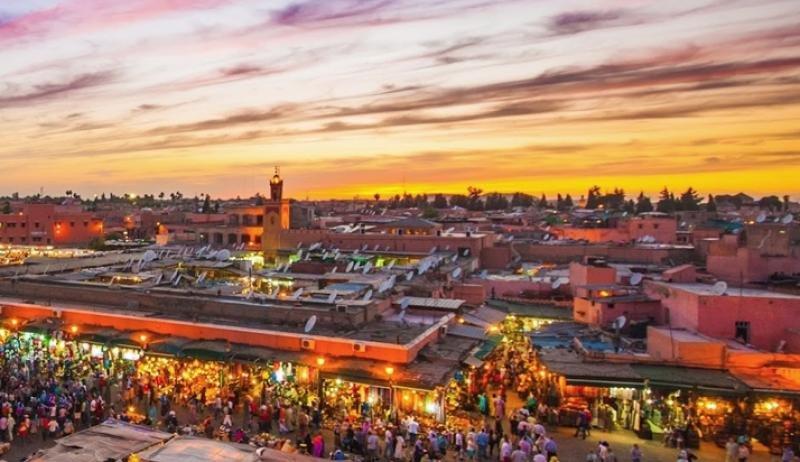 Seis de cada diez pernoctaciones se registraron en Marrakech y Agadir el pasado año.
