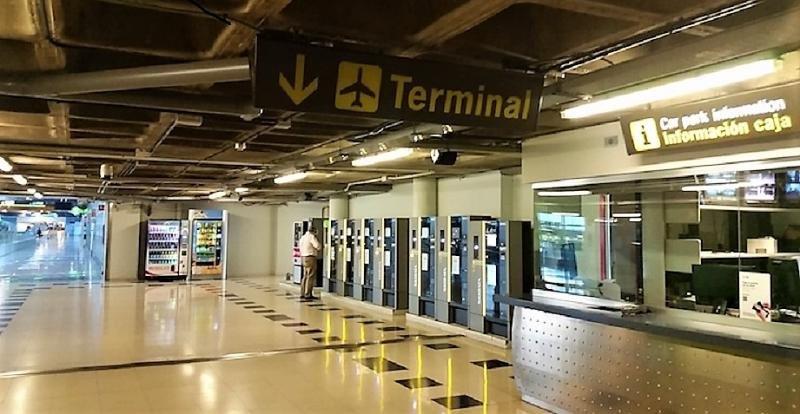 Los aeropuertos españoles incorporan el pago móvil del parking