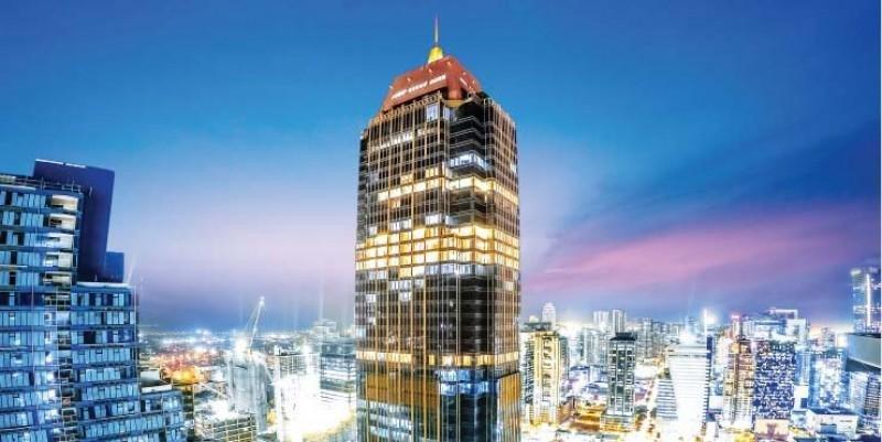 Gran Hyatt roza el cielo en el edificio más alto de Filipinas
