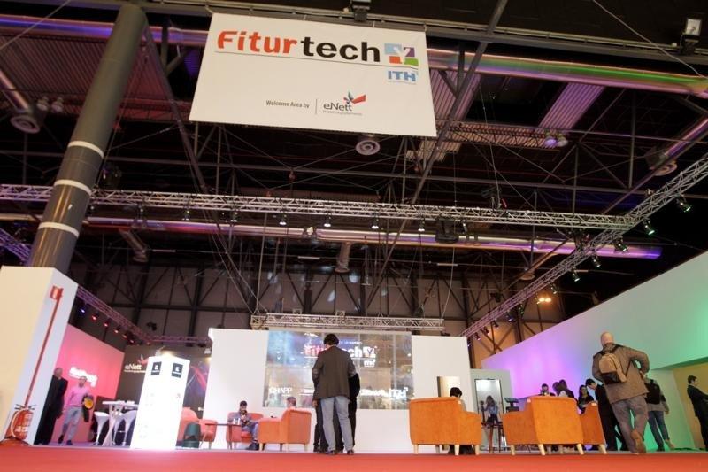 Escenario de Fiturtech Y durante tres días se ha celebrado en sus cuatro foros una apretada agenda de presentaciones, entrevistas y mesas redondas con la innovación como denominador común.