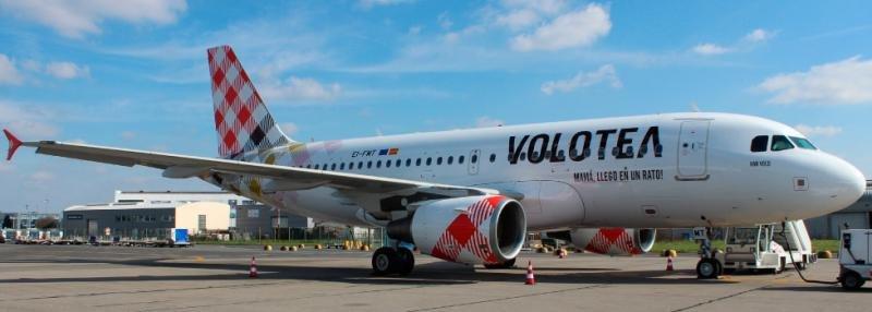 Volotea registra crecimientos del 42% en tráfico y 22% en facturación