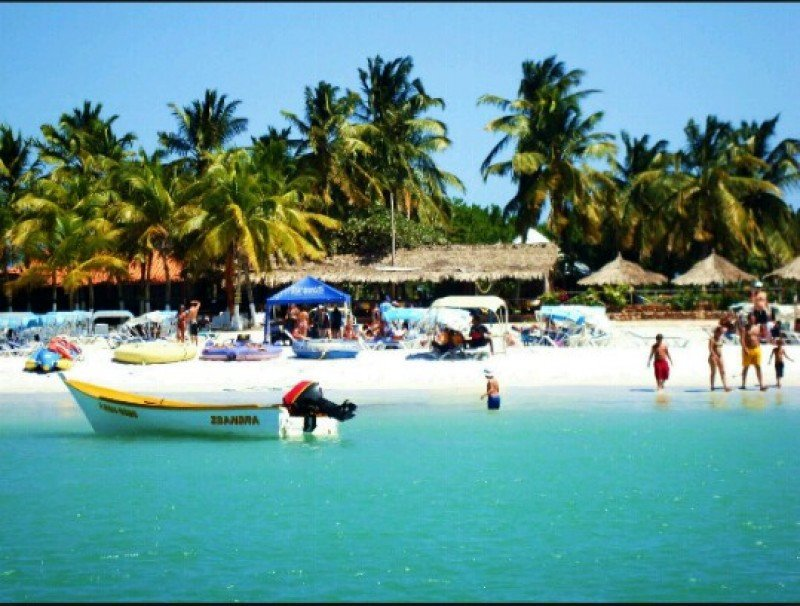 Isla de Coche, junto a Isla Margarita, uno de los destinos más promocionados de Venezuela.