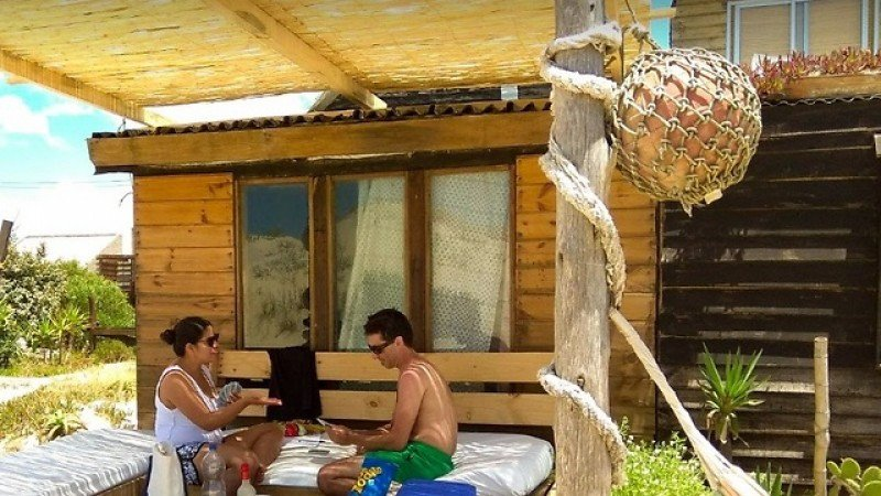 Hostel Buena Vista en Valizas no está registrado en el Ministerio de Turismo. Foto: Web del local.