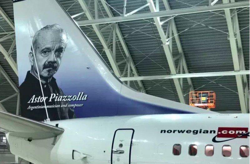 Astor Piazzolla, el homenajeado de Norwegian Air Argentina