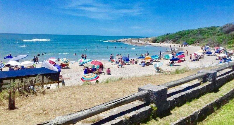 Playa del Barco, en el parque Santa Teresa.  Foto: Turismo Rocha
