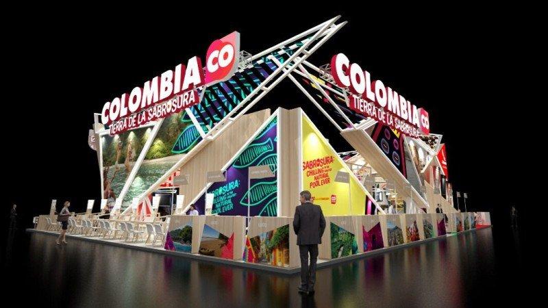 Sabrosura es el eslogan de Colombia en FITUR 2018.