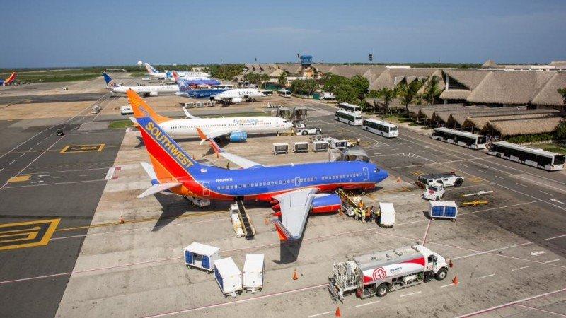 Aeropuerto de Punta Cana. Foto: Diario a diario.
