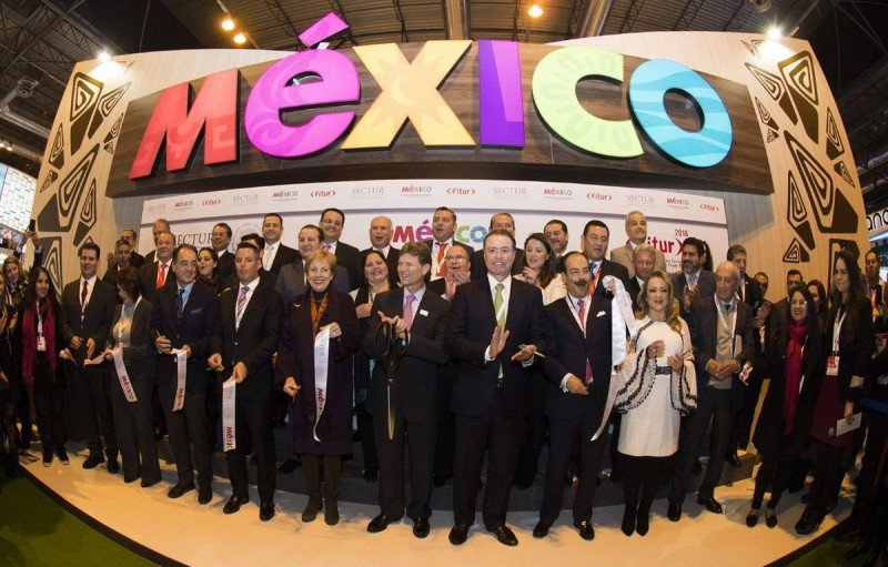 Creció 97% el turismo de Sudamérica a México en 2017