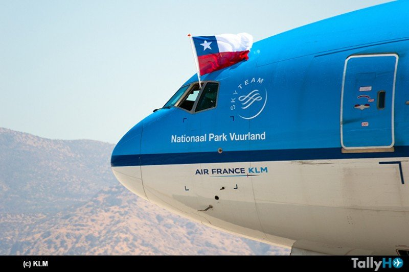 KLM suma nueva frecuencia semanal a la ruta Ámsterdam-Santiago-Buenos Aires