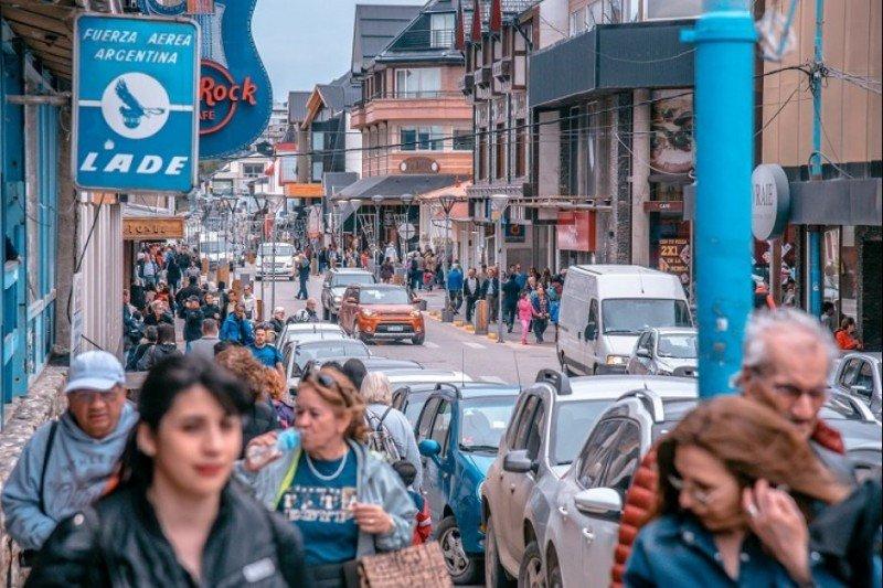 Ushuaia es uno de los destinos destacados en enero. Foto: Crítica Sur.
