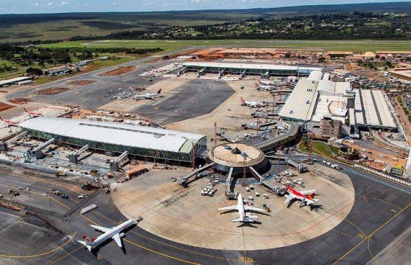 Aeropuerto Internacional de Brasilia.