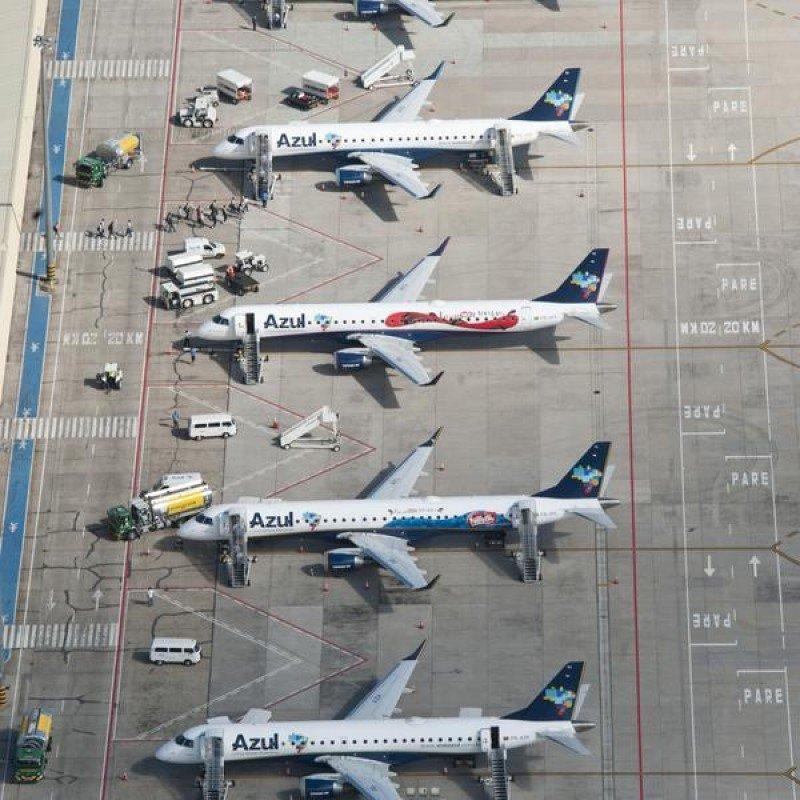 Azul multiplicará sus vuelos de Sao Paulo a Bariloche este invierno