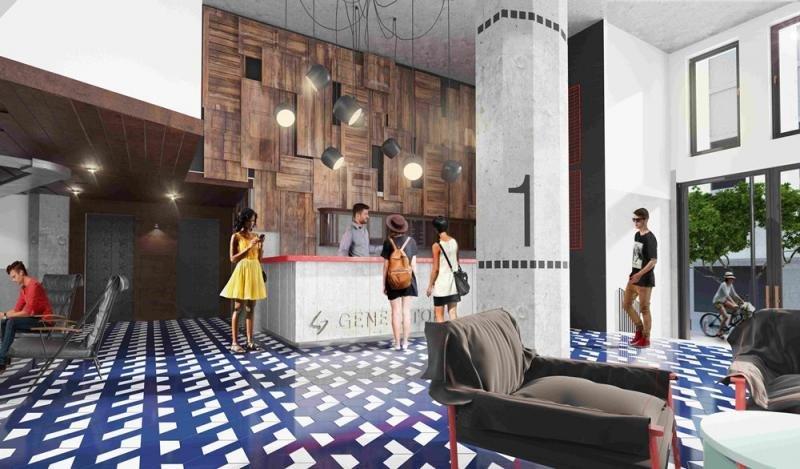 Con 6.000 metros cuadrados de superficie el hostel dispondrá de 129 habitaciones y 542 camas, distribuidas en habitaciones individuales privadas y compartidas de cuatro y ocho camas.