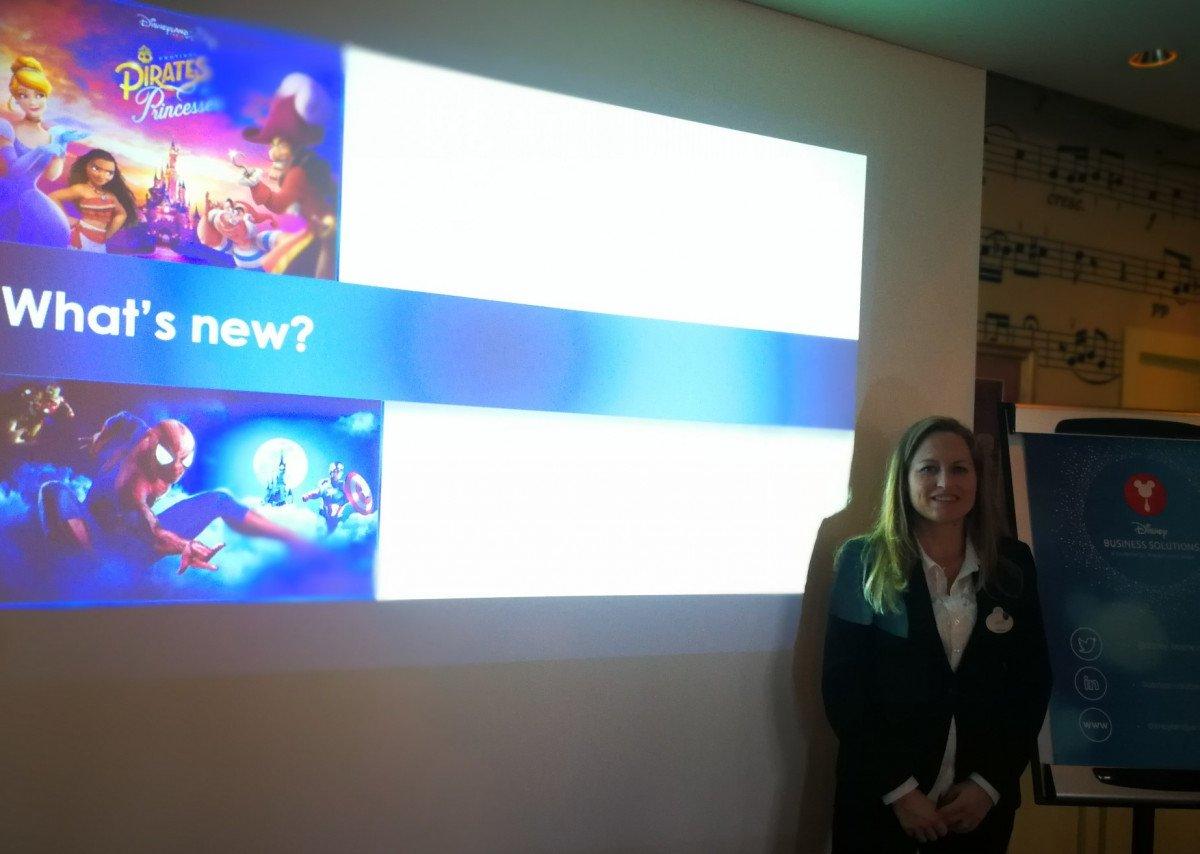 Laure Glatron, directora de Disneyland Paris para España y Portugal.