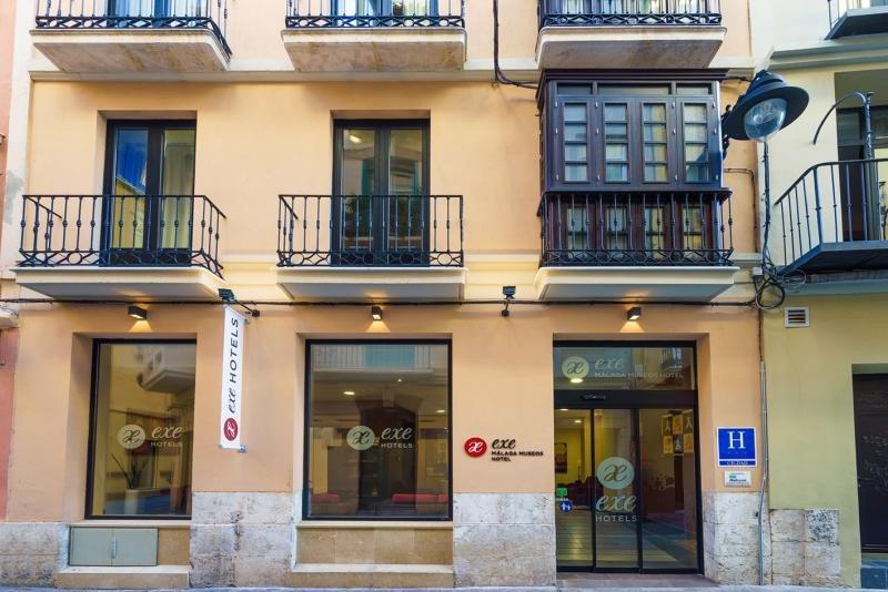 Fachada del Exe Málaga Museo.