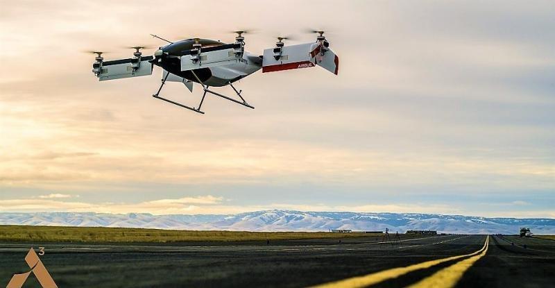 De boceto conceptual en una servilleta a avión autónomo eléctrico (Foto A3/ Airbus).