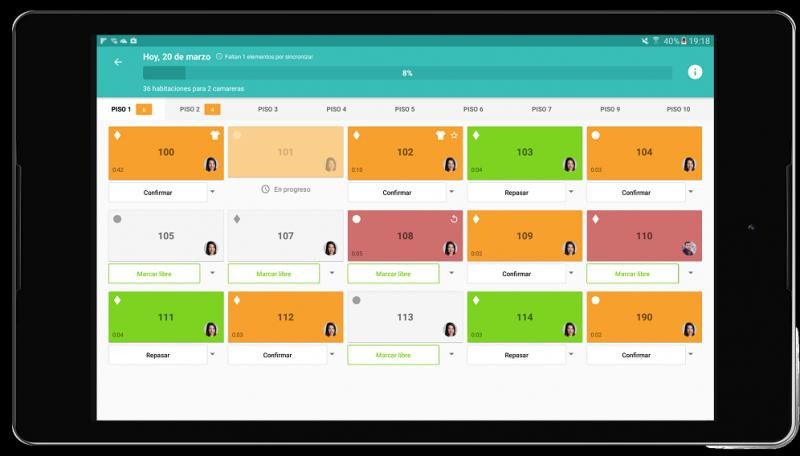 Con Abitari se busca incrementar la eficiencia del trabajo de las camareras de pisos con una aplicación móvil.