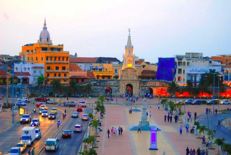 Palladium desembarca en Colombia con un 5 estrellas
