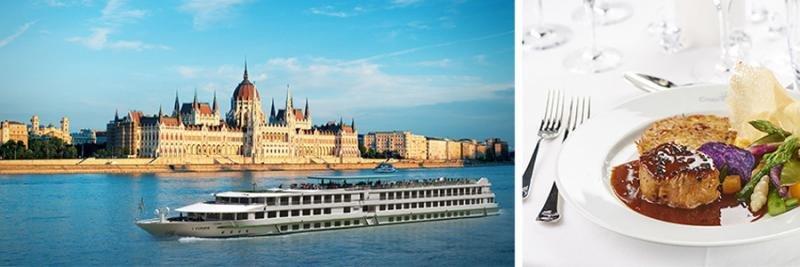 Capitales del Danubio permite navegar en un barco de 5 anclas durante cuatro o cinco días por capitales europeas como Viena o Budapest