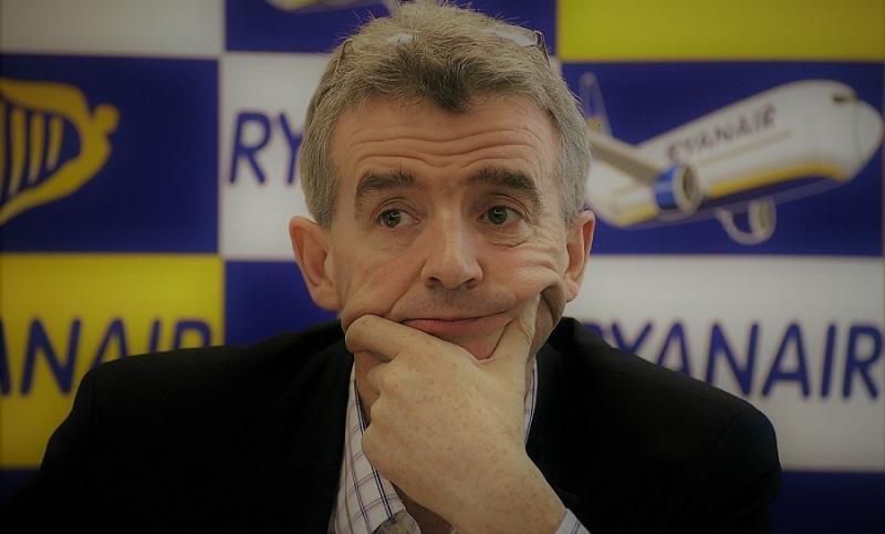 Ryanair operará 29 nuevas rutas en invierno y prevé crecer en España un 9%, según ha anunciado Michael O'Leary (Foto de archivo).