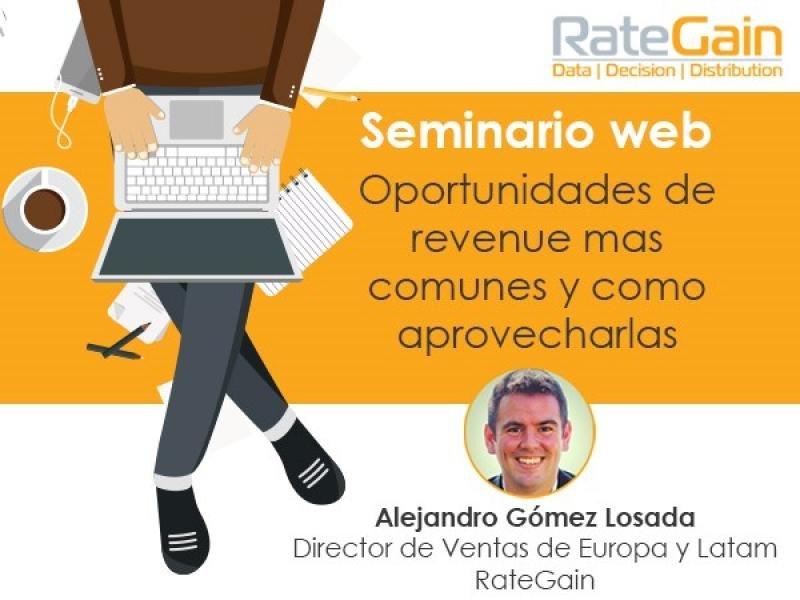 Webinar: Oportunidades de revenue más comunes y cómo aprovecharlas