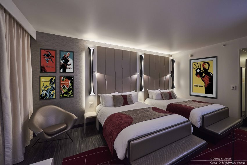 Así será el nuevo Disney's Hotel New York - The Art of Marvel.