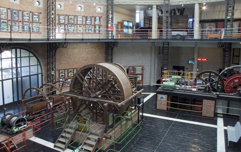Museo de la Minería y de la Industria, en el municipio asturiano de San Vicente.