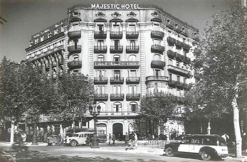 El Majestic Barcelona celebra sus 100 años de vida