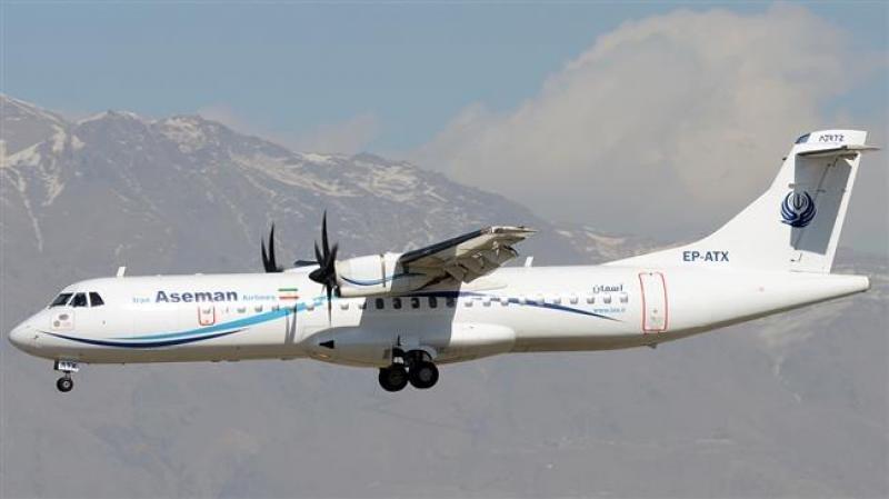 El avión siniestrado pertenece a la compañía iranía Aseman.