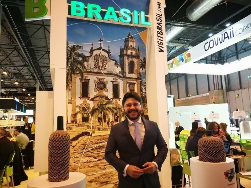 Gilson Lira, Director de Mercado Internacional de Embratur.