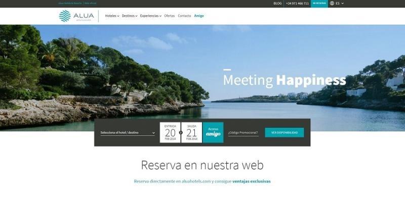 Alua potencia su venta directa con nueva web y programa de fidelización