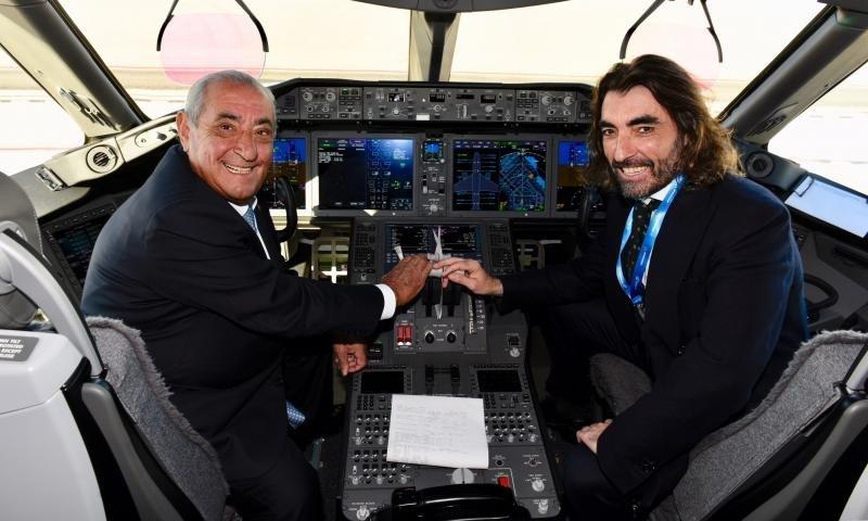 Juan José y Javier Hidalgo, presidente y CEO de Globalía.