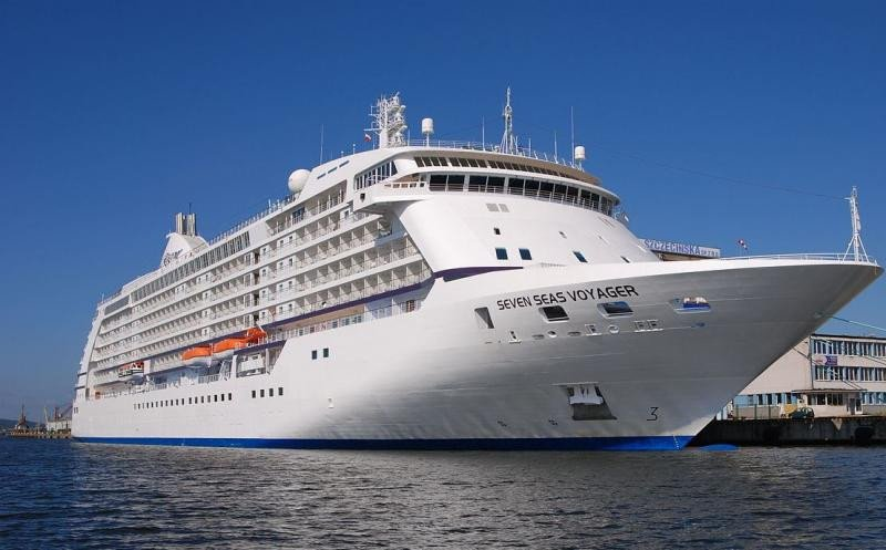 Seven Seas Voyager es uno de los barcos que operan en la zona.