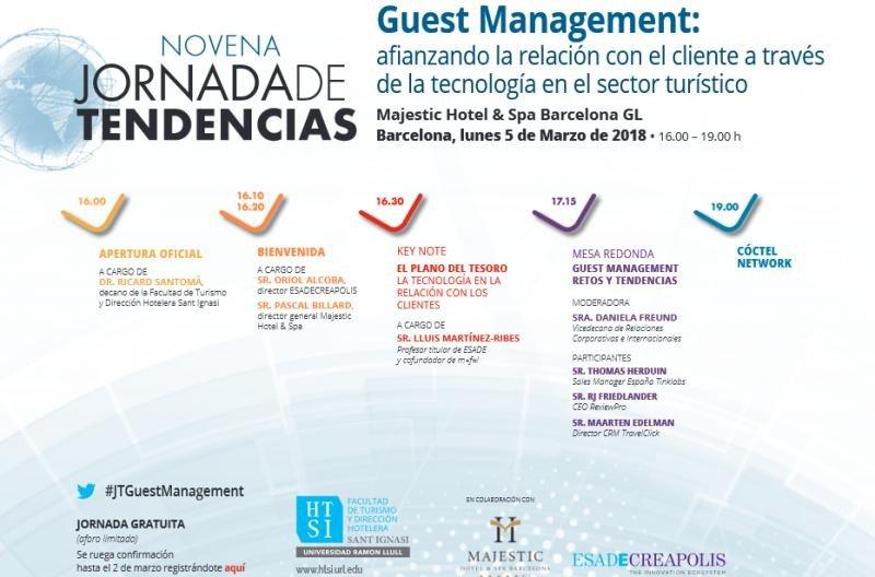 Jornada de Tendencias HTSI: aplicación de la tecnología al Guest Management